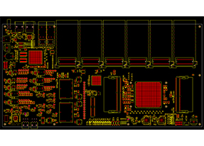 专业pcb设计-25Gbps光tong信核xin板